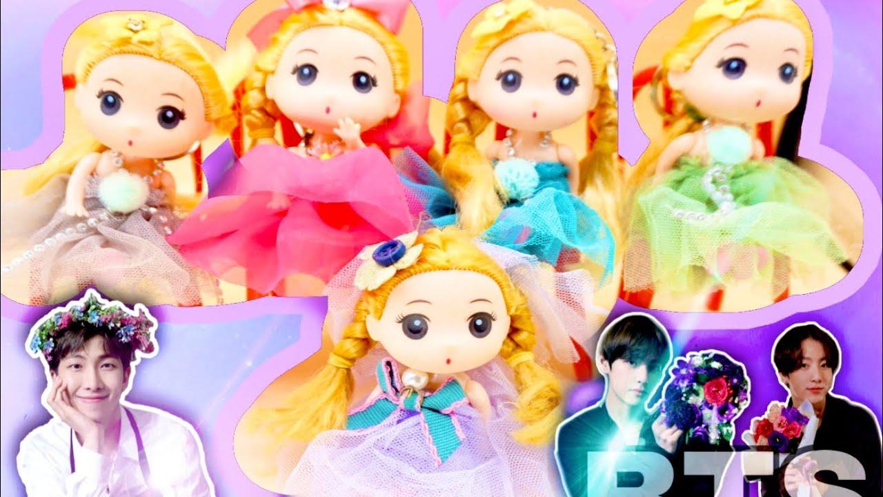 AMKETYA Learn Color by cute Doll Boom Boom