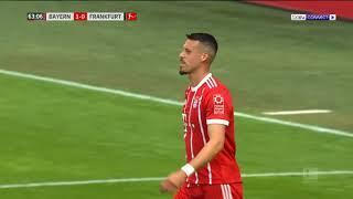 مشاهدة مباراة بايرن ميونخ وآينتراخت فرانكفورت بث مباشر بتاريخ 28 04 2018 الدوري الالماني