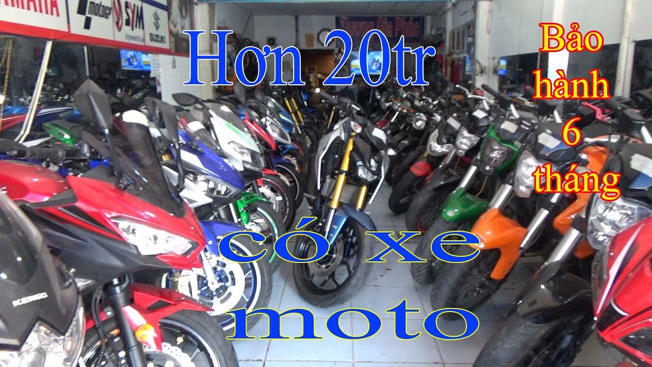chỉ hơn 20tr có xe moto tại cửa hàng xe máy Dương Gia Phúc-Huy Hoàng