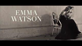 Emma Watson Backstage Vogue Italia 2015