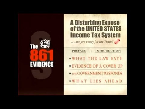 861 Evidence   A Disturbing Expose of the United States Income Tax System