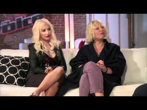 The Voice Week Three Coaches Couch  Frenchie