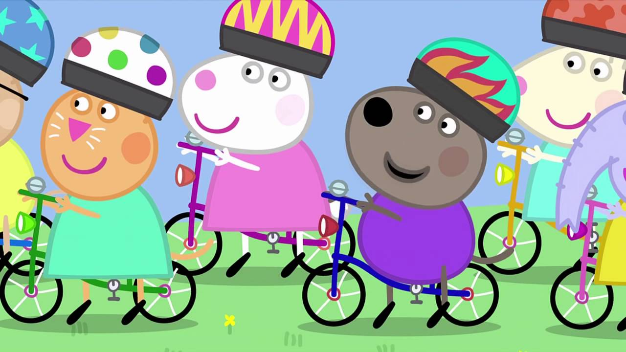 Peppa Pig The Cycle Ride 33 Episode 2 Season Hd