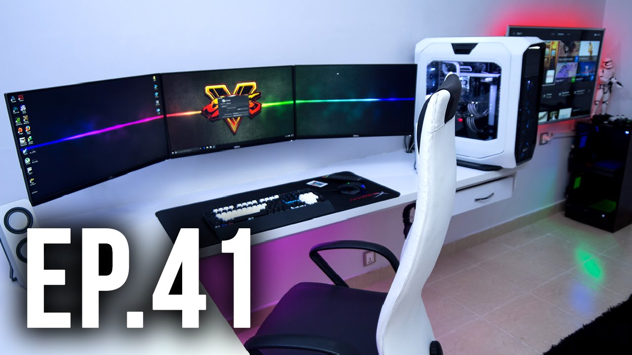 Cheap 3d Wallpaper Room Tour Project 41 Best Gaming Setups Youtube