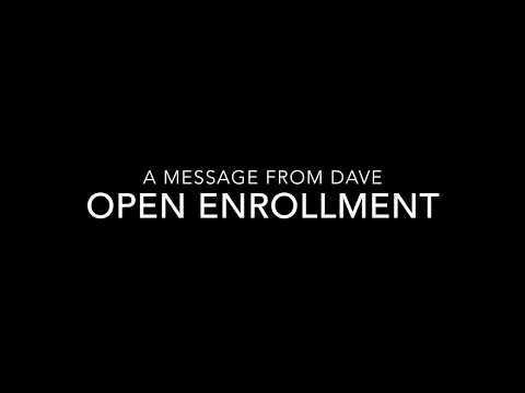 PSA: Open Enrollment 2018