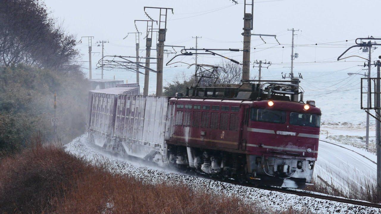 2016.3.25 日本海縦貫線の「EF81...