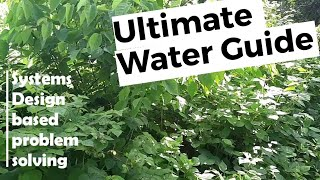Ultimate food forest garden watering guide - part 1