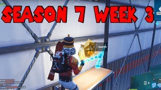 Secret Season 7 Week 3 Battlestar Location Guide (Snowfall Challenge) - Fortnite Battle Royale