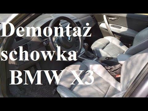 Demontaż Schowka Bmw X3 Jak Dostać Się Do Bezpieczników