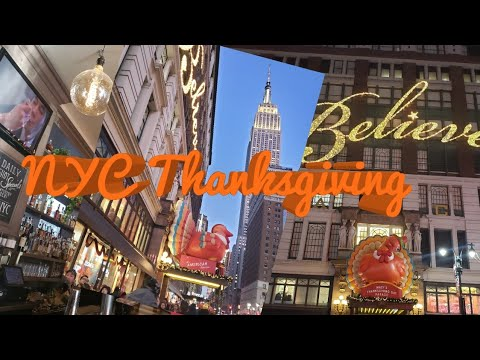 NYC Thanksgiving | Fun in the City | Prime Inc | Lady Trucker