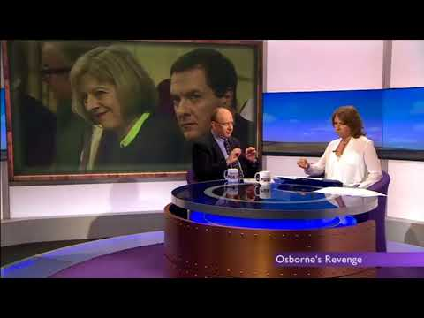 George Osborne wants Theresa May