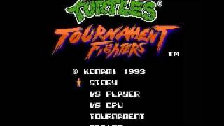 Ninja Turtles Tournament Fighters (Complete Gameplay)