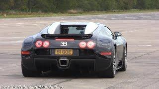 bugatti Veyron vs Lamborghini Aventador vs 900hp Turbo S vs Superleggera