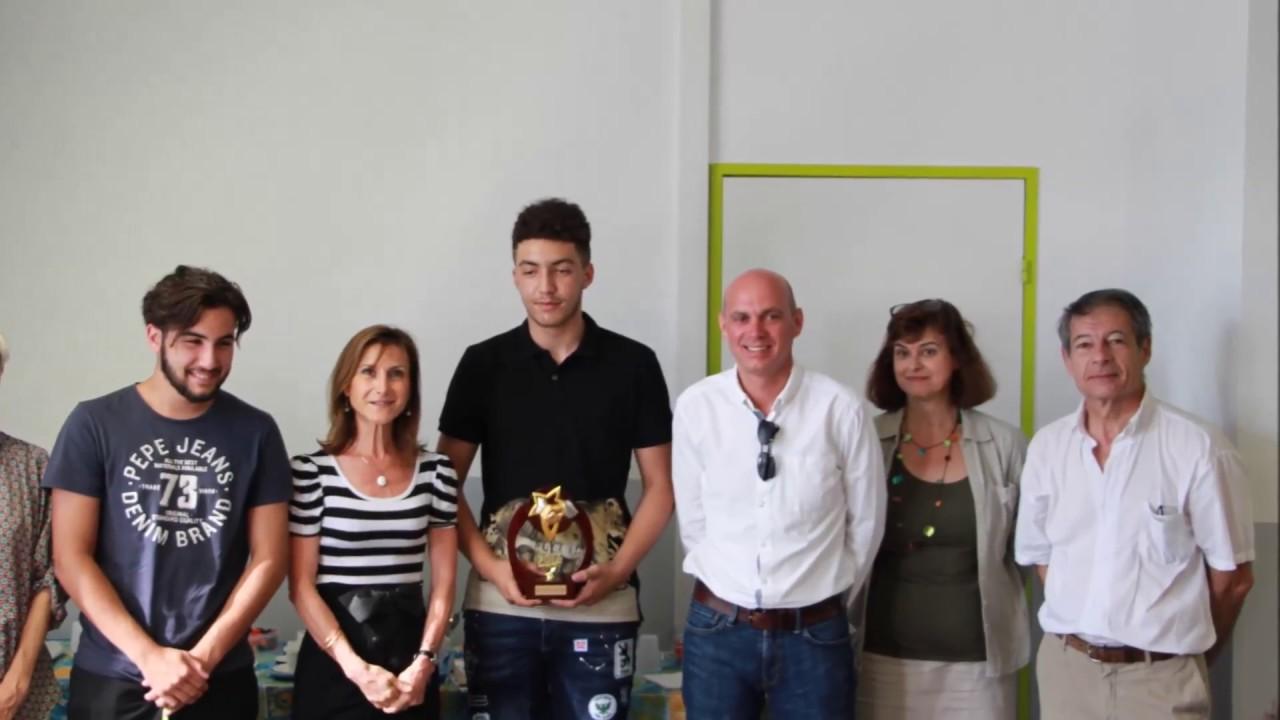 remise du premier prix concours eurocentre joseph la salle toulouse