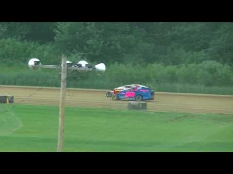 @RushSportMods Heat 2 from Expo Speedway at The Trumbull County Fair