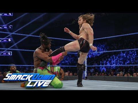 Kofi Kingston vs. Daniel Bryan - Gauntlet Match Part 1: SmackDown LIVE, Feb. 12, 2019