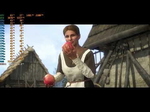 Kingdom Come: Deliverance - A Woman's Lot 1700x+GTX 1080ti |