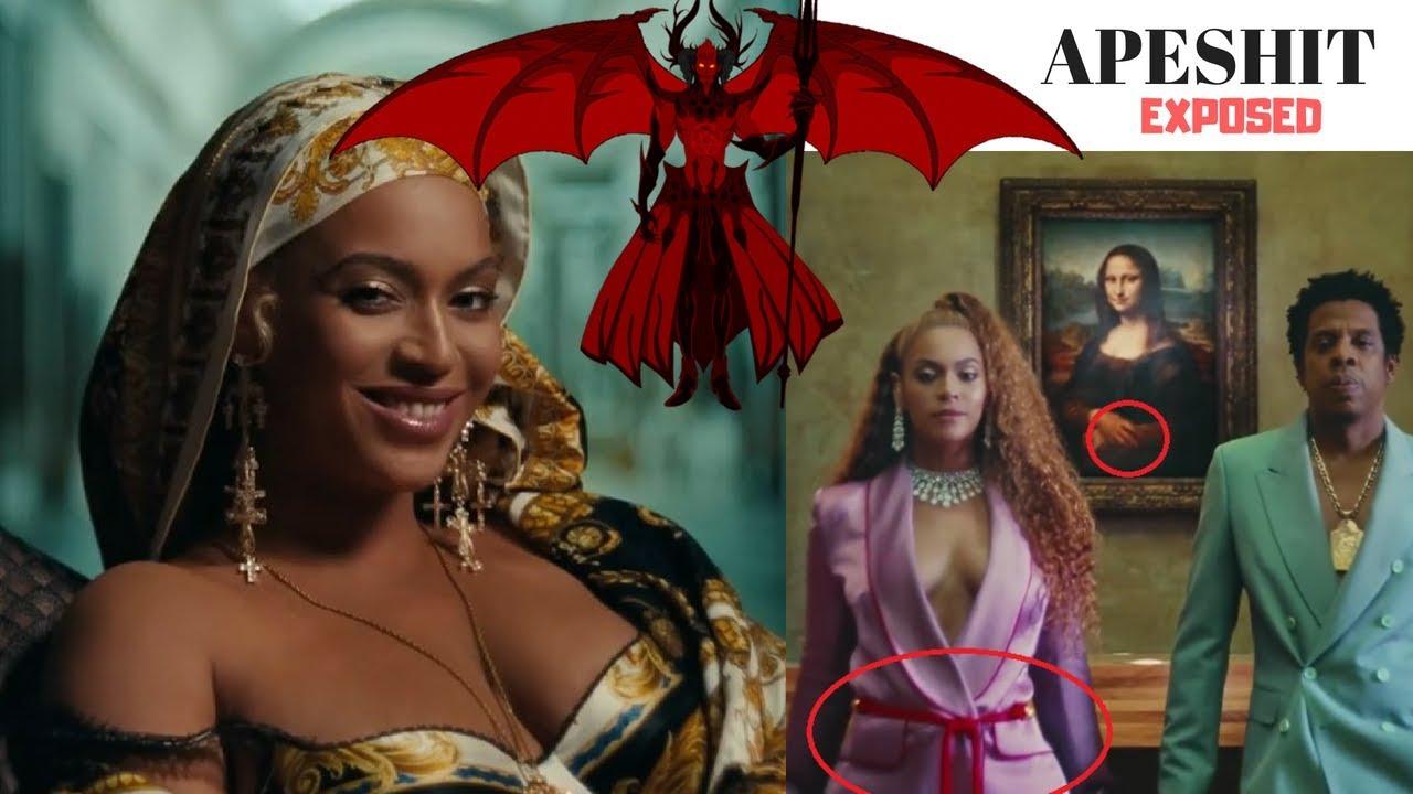 Beyonce Apeshit Demonic Symbols Explained Youtube