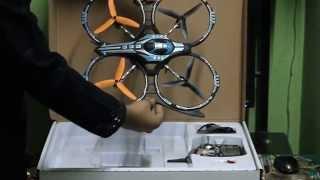 ALIEN INVADER AR Drone 3D QUADCOPTER 2.4GHz 4 Channel
