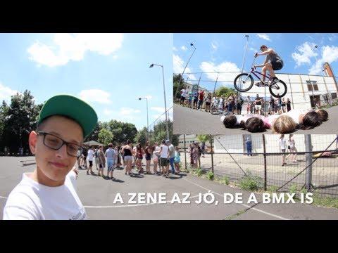 BMX bemutatóztunk a srácokkal
