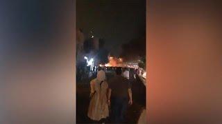 הפגנה הפגנות מפגינים איראן על מצב כלכלה אבטלה שחיתות אינפלציה ממשלה