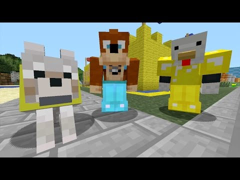 Minecraft Xbox - Sand Castle [326]