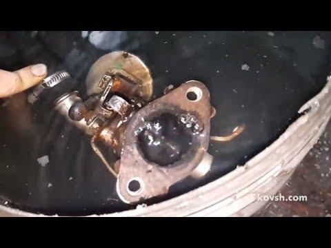 Причина попадания выхлопных газов в систему охлаждения на VW Passat 2.0d CR (CAGC)