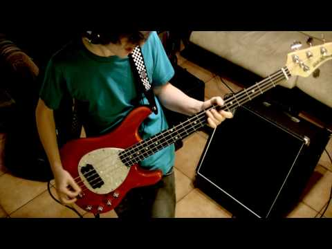 Less Than Jake - All My Best Friends Are Metal Heads (bass Cover)
