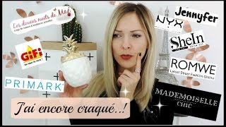 HAUL DECO / MODE / MAKE-UP