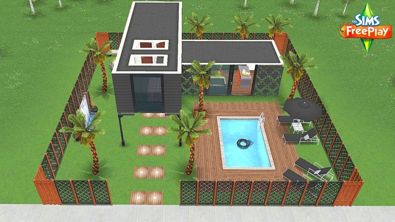 Speed Build: CASINHA MINIMALISTA MODERNA // SMALL MODERN MINIMALIST HOUSE