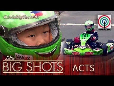 Little Big Shots Philippines: Axel | 5-year-old Kiddie Go Kart Racer