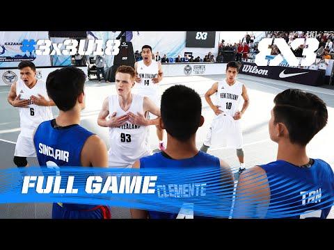 New Zealand v Philippines - Game of the Day (Day 2) - 2016 FIBA 3x3 U18 World Championships