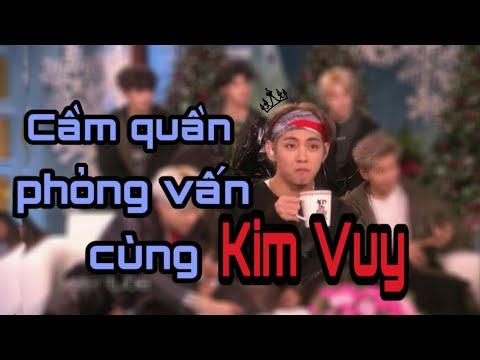 V | Cầm quần phỏng vấn cùng Kim Vuy [ HAPPY BIRTHDAY V 30122018 ]