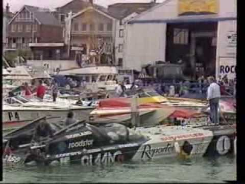 COWES CLASSIC POWERBOAT RACE 1988