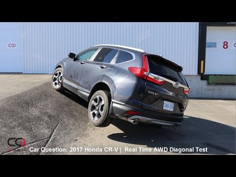 Real Time AWD Diagonal Test  2017/2018 Honda CR-V | The MOST complete review: Part 6/8