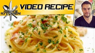 Bacon Carbonara - Video Recipe