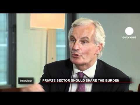 euronews interview - Role of the private sector in euro debt crisis