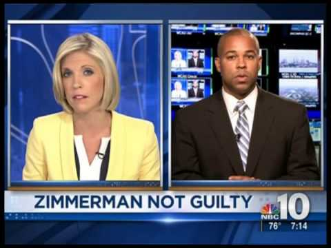 Zimmerman Trial Commentary WCAU TV 2013 07 14 7AM