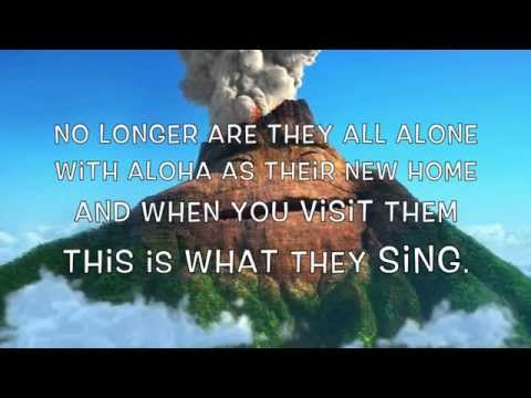 "Disney Pixar's ""Lava"" Short Film (karaoke Instrumental w/ Lyrics)."