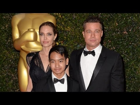 Brad Pitt and Angelina Jolie's Son Maddox Reportedly Stepped In During Plane Fig