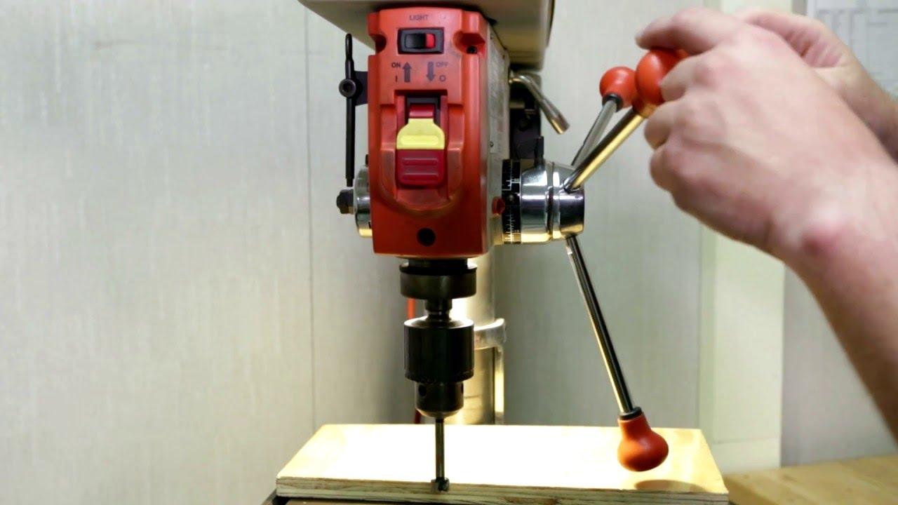 Clarke CDP352F Floor Standing Industrial Drill Press 230V