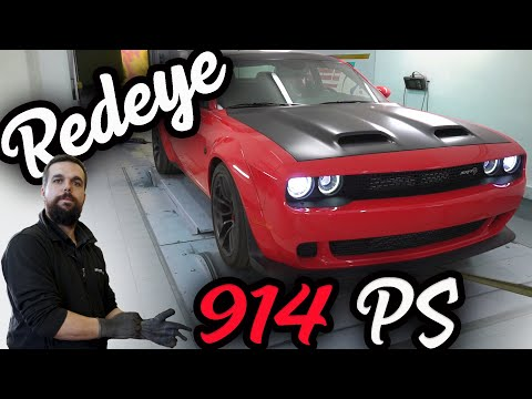Geigercars - Dodge Challenger Hellcat Redeye Leistungssteigerung Auf 914 PS😱!