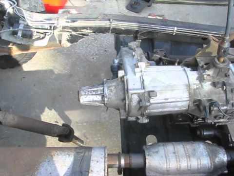 92 Jeep Wrangler YJ Disassembly AX15 transmission  NP231