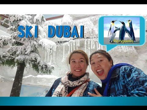 SKI DUBAI  & MEETING THE PENGUINS Part 2