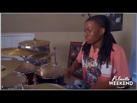 Sammy Cornelius Jr On The Drums! Zizzy Stix  RIP