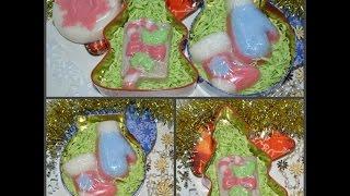 Идея подарка: Новогоднее мыло своими руками / Gift idea: Christmas soap with your hands