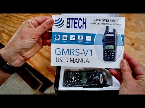 Testing Baofeng GMRS-V1 Radios on Mountain View Ranch
