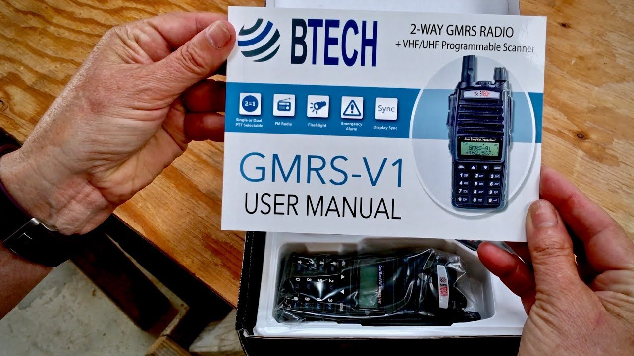 7 Best Two Way Radios in 2019 - FRS/GMRS - Review by US Marine