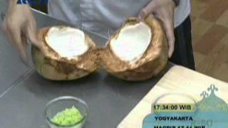 Cooking | es tape ketan hijau