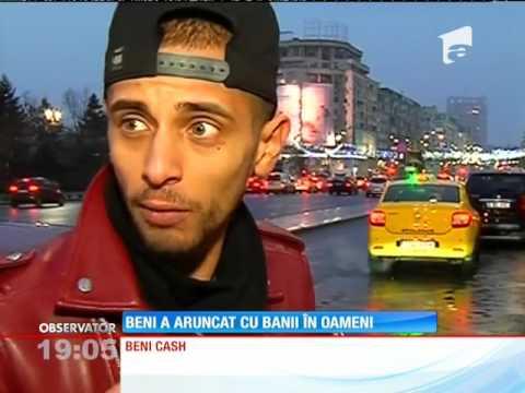 Cocalarul din Ploieşti care a aruncat cu bancnote de 1 leu într-o stația de autobuz, amendat cu 1